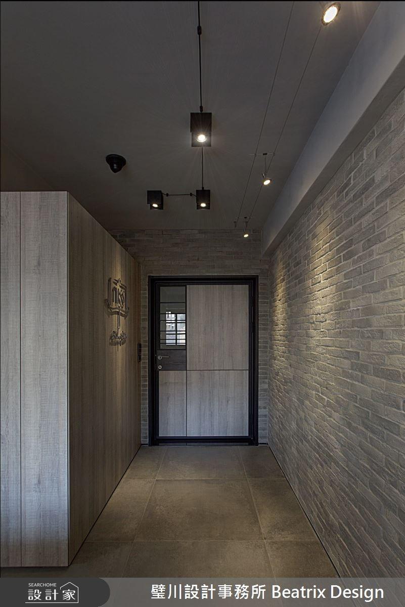 45坪老屋(16~30年)_混搭風玄關案例圖片_璧川設計事務所 Beatrix Design_璧川_焙寓之1