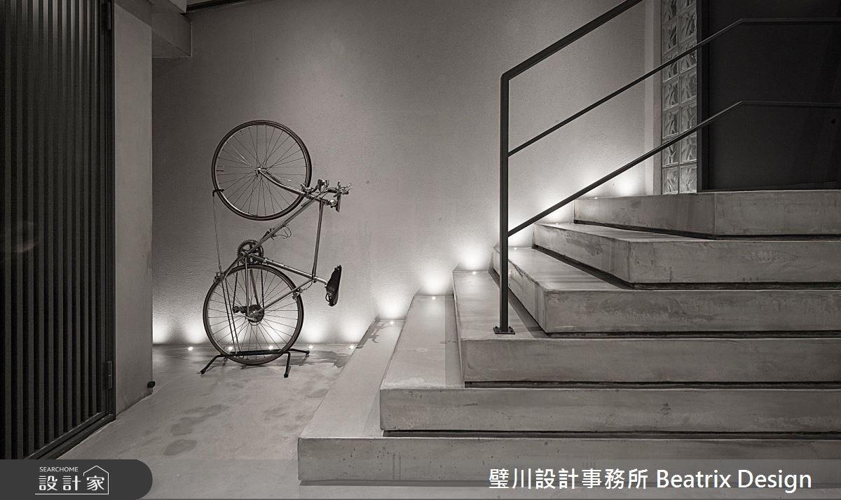 67坪老屋(16~30年)_工業風樓梯案例圖片_璧川設計事務所 Beatrix Design_璧川_雪釀之2