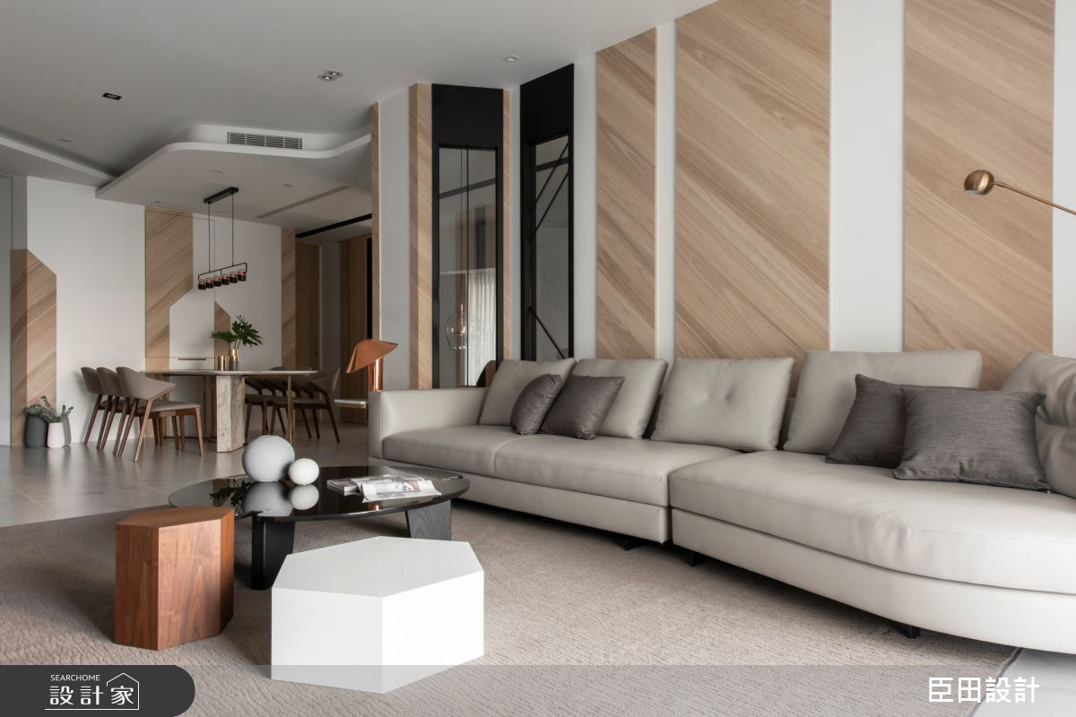 42坪新成屋(5年以下)_現代風客廳案例圖片_臣田設計_臣田_13之8