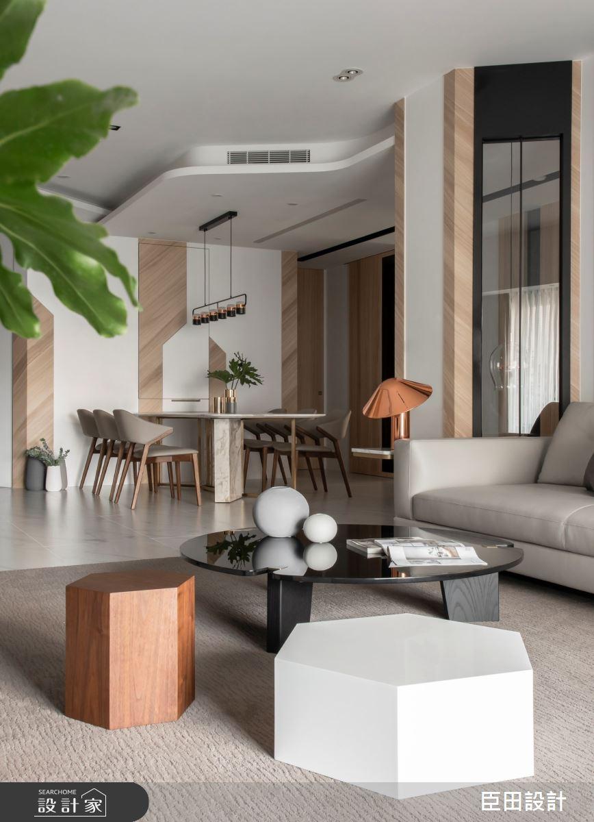 42坪新成屋(5年以下)_現代風客廳案例圖片_臣田設計_臣田_13之9