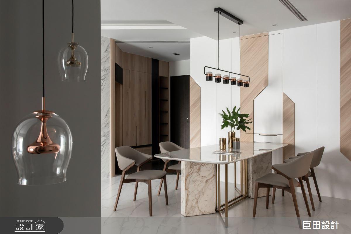 42坪新成屋(5年以下)_現代風餐廳案例圖片_臣田設計_臣田_13之3