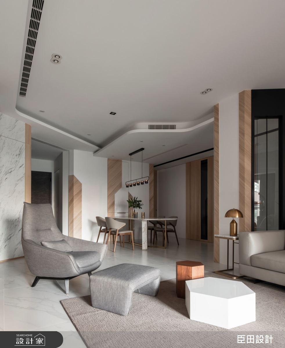 42坪新成屋(5年以下)_現代風客廳案例圖片_臣田設計_臣田_13之10