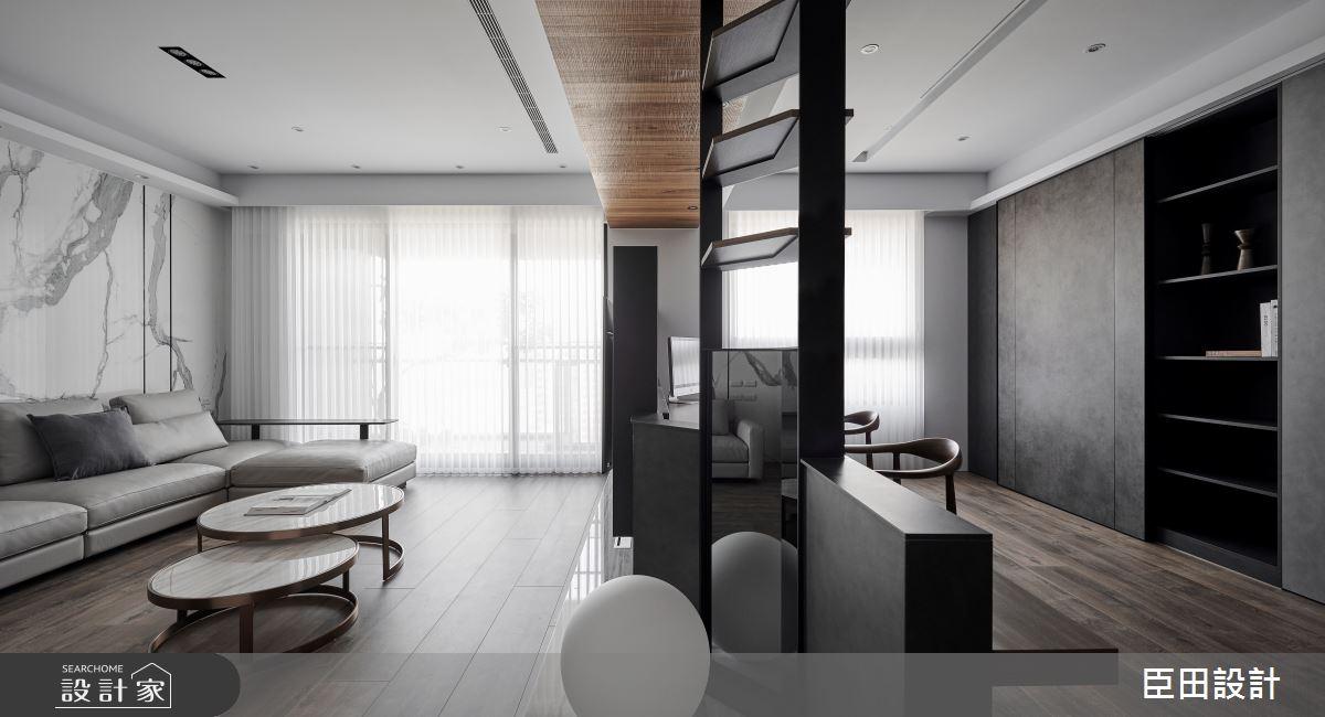 30坪新成屋(5年以下)_現代風客廳案例圖片_臣田設計_臣田_15之5