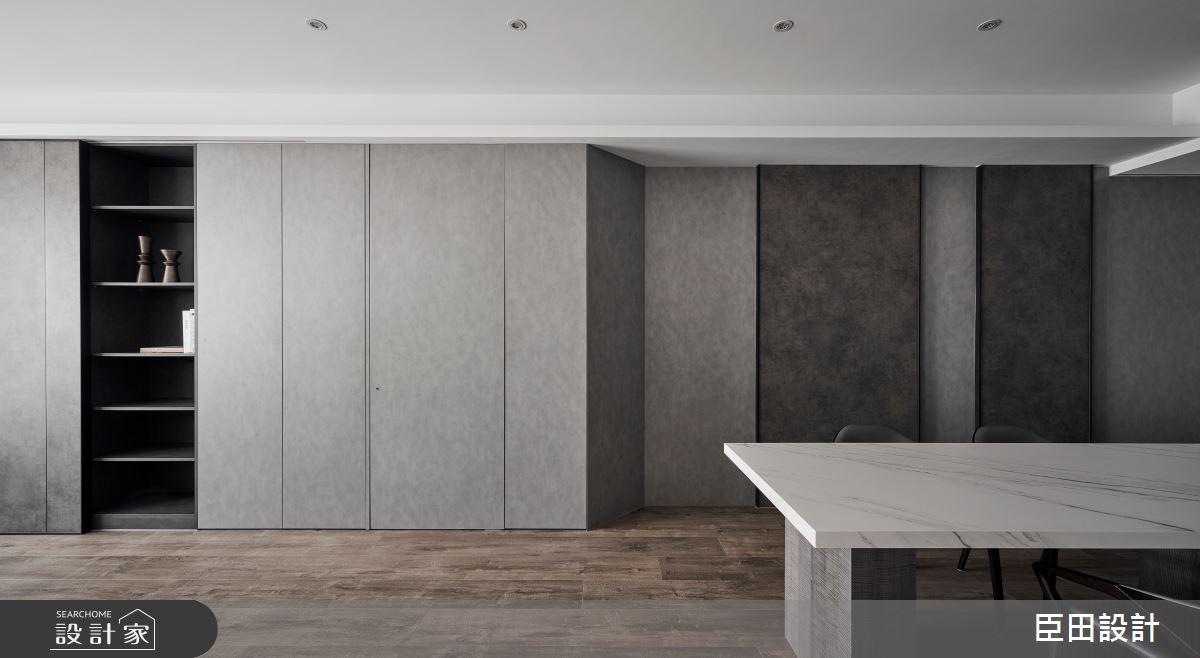 30坪新成屋(5年以下)_現代風餐廳案例圖片_臣田設計_臣田_15之6
