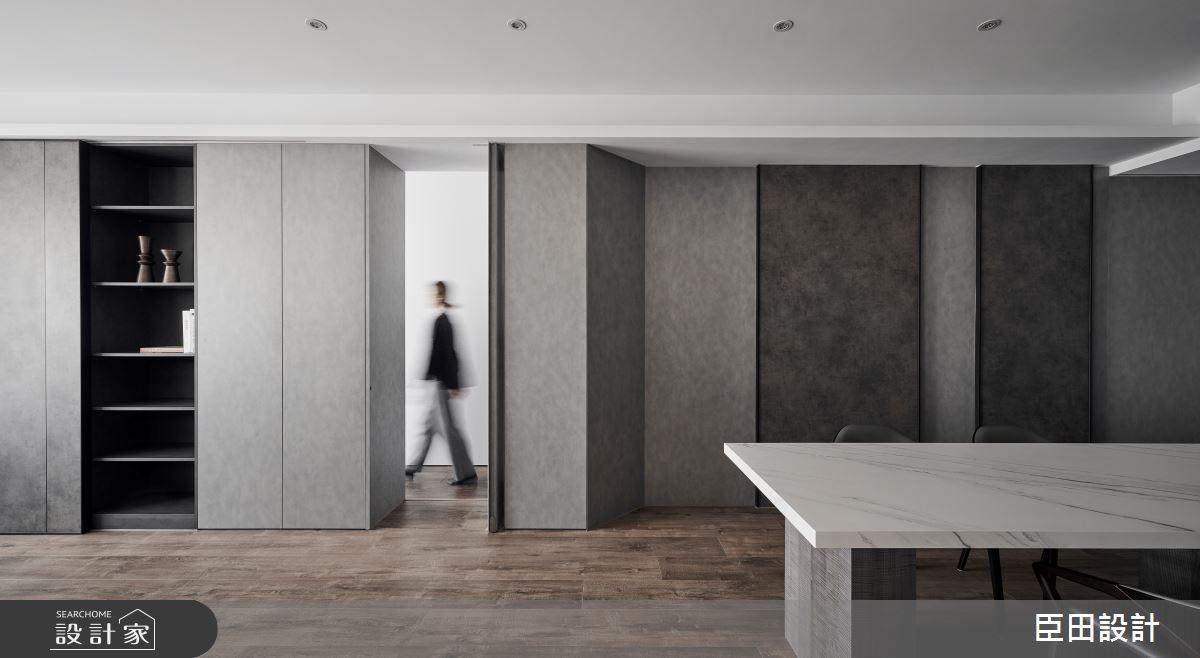 30坪新成屋(5年以下)_現代風餐廳案例圖片_臣田設計_臣田_15之7
