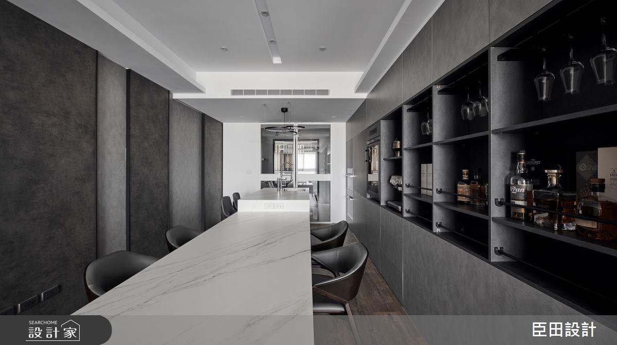 30坪新成屋(5年以下)_現代風餐廳案例圖片_臣田設計_臣田_15之11