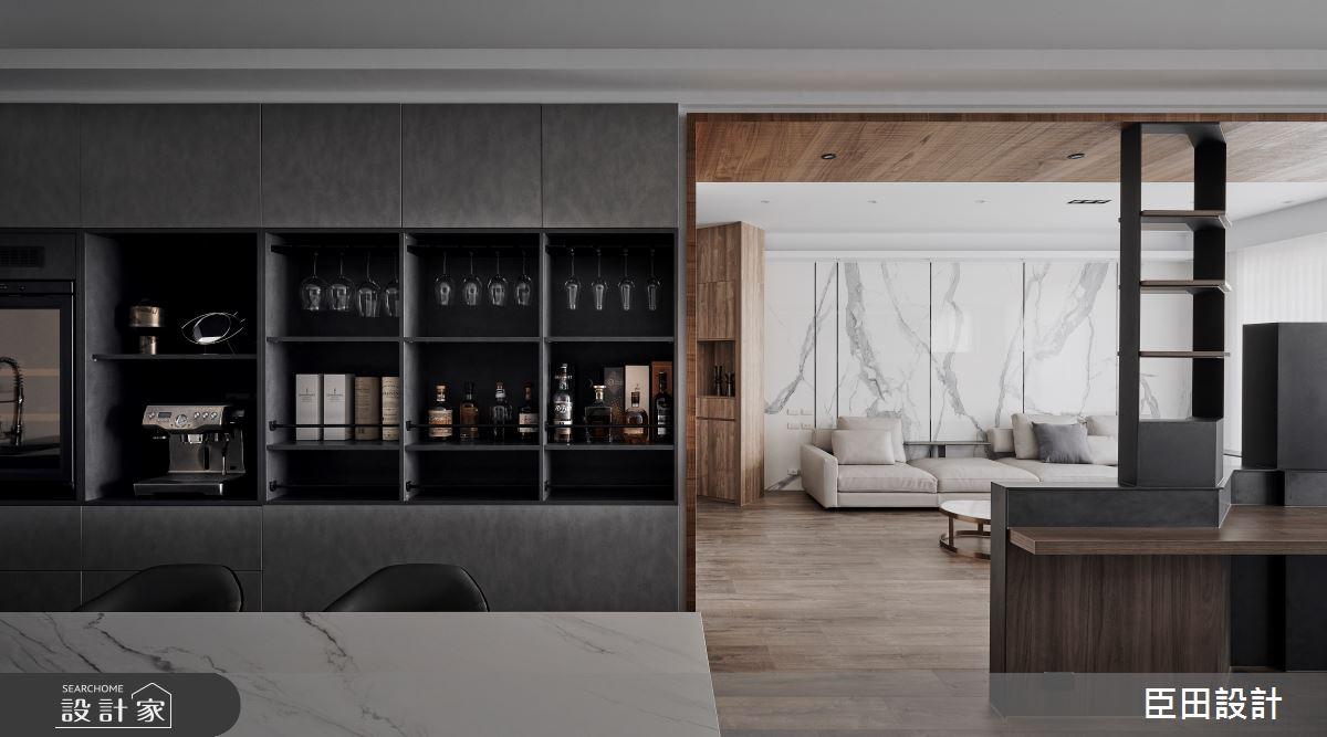 30坪新成屋(5年以下)_現代風餐廳案例圖片_臣田設計_臣田_15之12