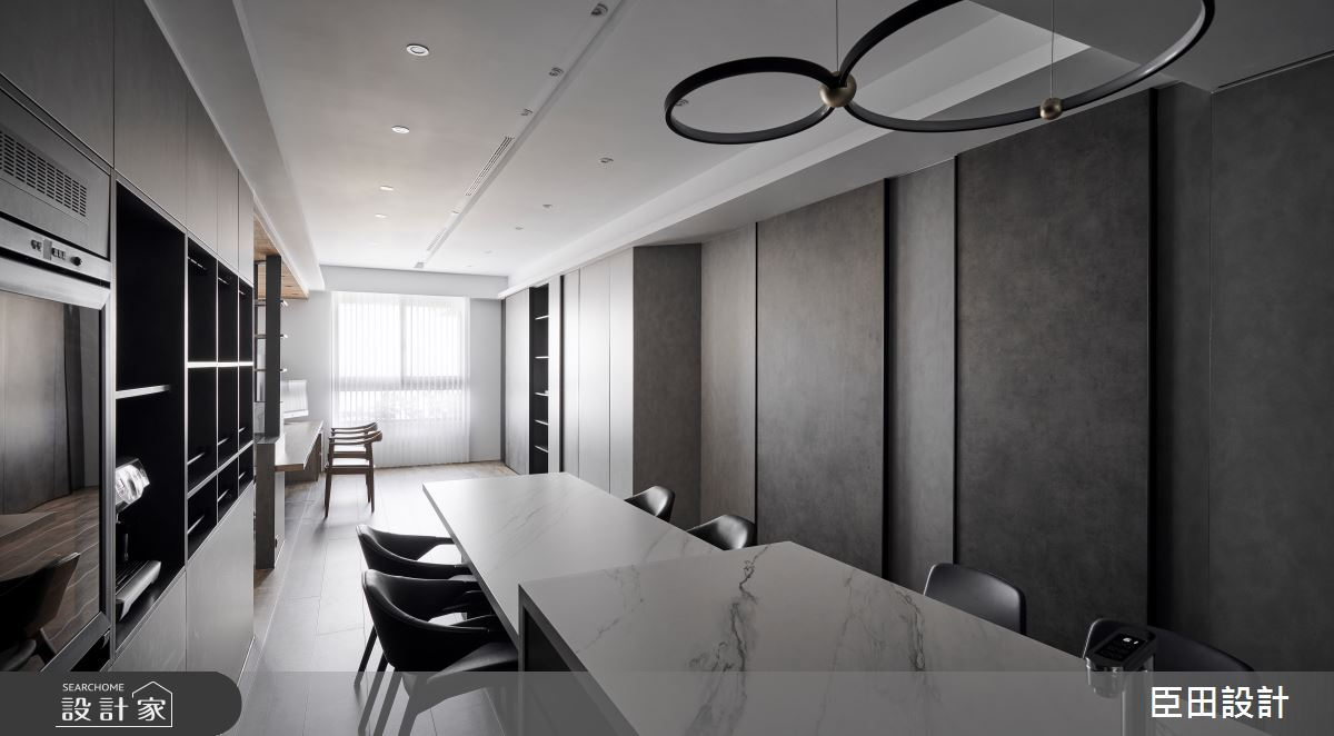 30坪新成屋(5年以下)_現代風餐廳案例圖片_臣田設計_臣田_15之14