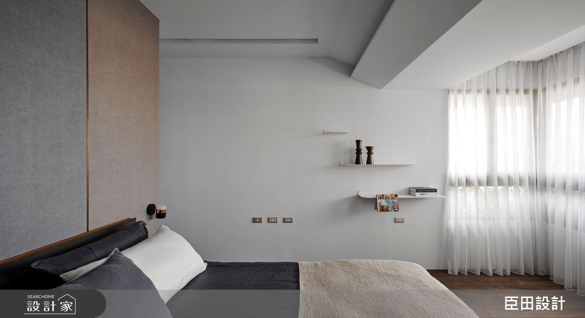 30坪新成屋(5年以下)_現代風臥室案例圖片_臣田設計_臣田_15之16