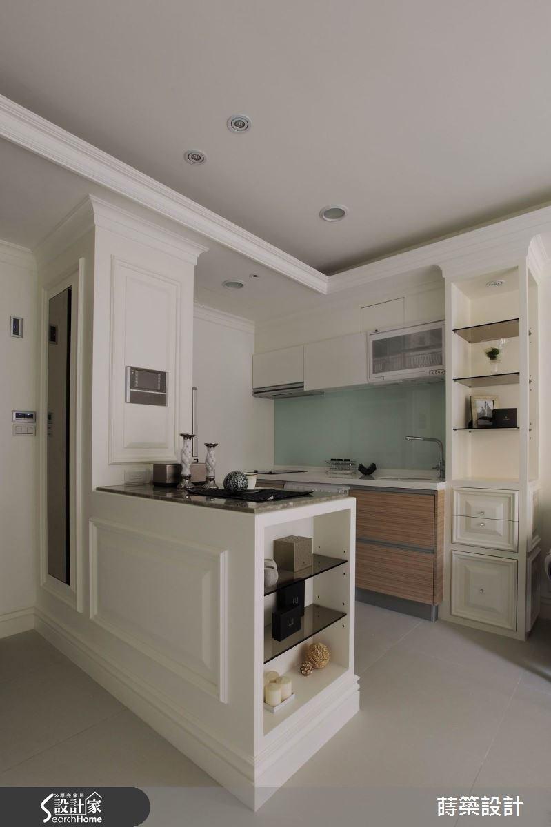 11坪新成屋(5年以下)_新古典廚房吧檯案例圖片_蒔築設計有限公司_蒔築_13之2