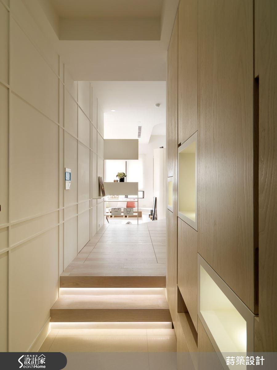 31坪預售屋_現代風走廊案例圖片_蒔築設計有限公司_蒔築_14之1