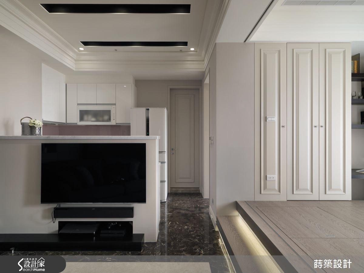 12坪新成屋(5年以下)_美式風客廳走廊案例圖片_蒔築設計有限公司_蒔築_19之1