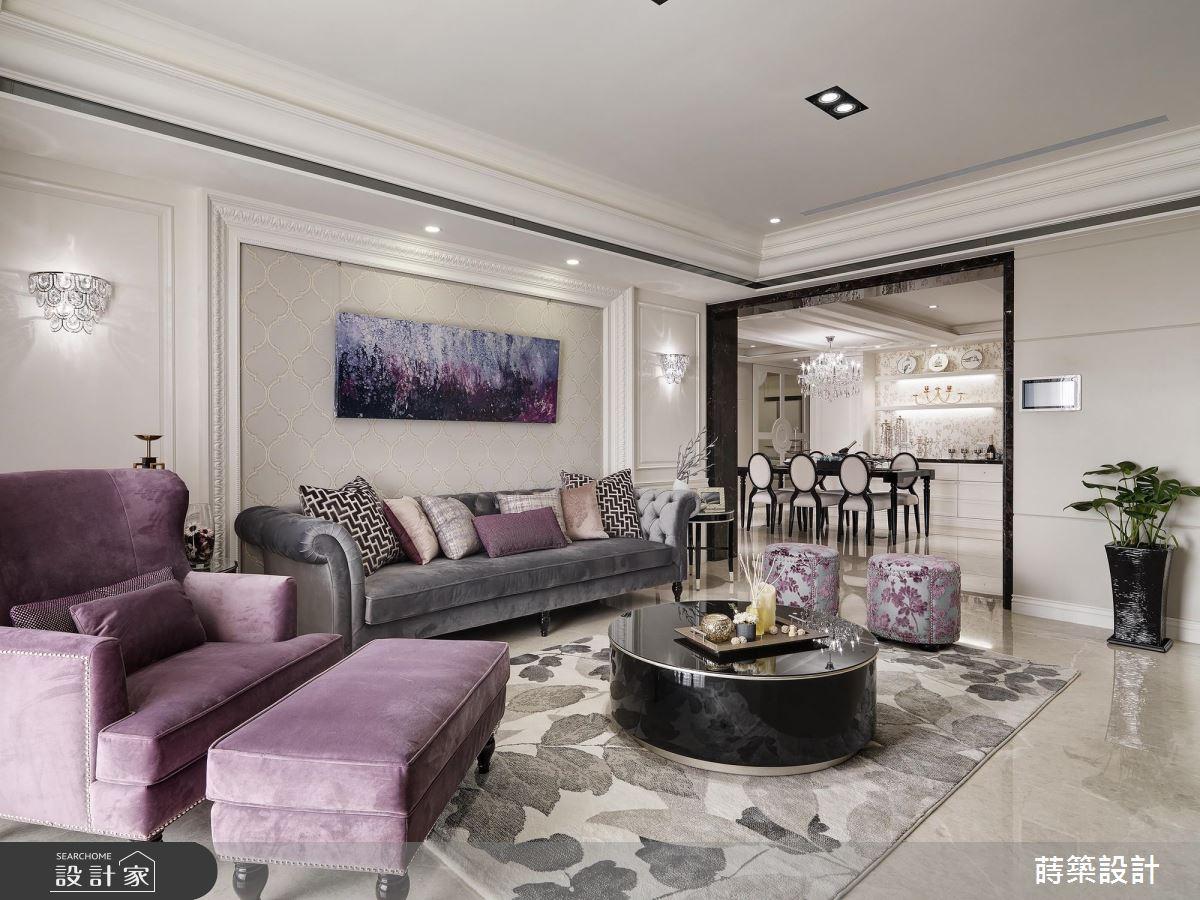 臥房跟客廳一樣大再加更衣室!妳最愛的新古典單身宅