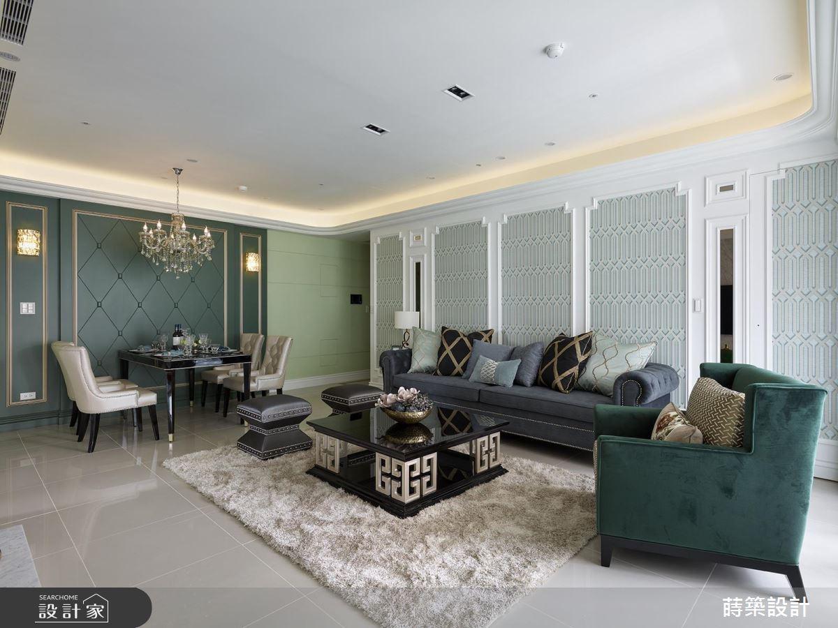 隱身湖水綠的層層密室!掀開 40 坪新古典宮廷的面紗