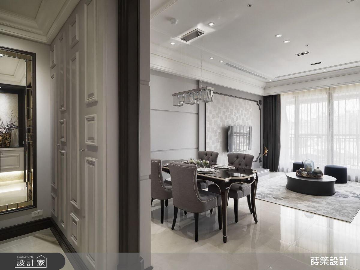 40坪新成屋(5年以下)_美式風客廳案例圖片_蒔築設計有限公司_蒔築_32之2