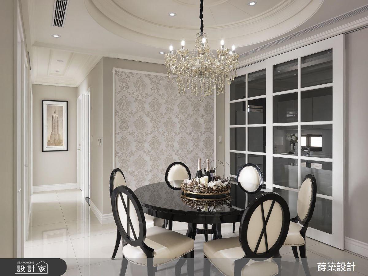 42坪新成屋(5年以下)_新古典餐廳案例圖片_蒔築設計有限公司_蒔築_34之11