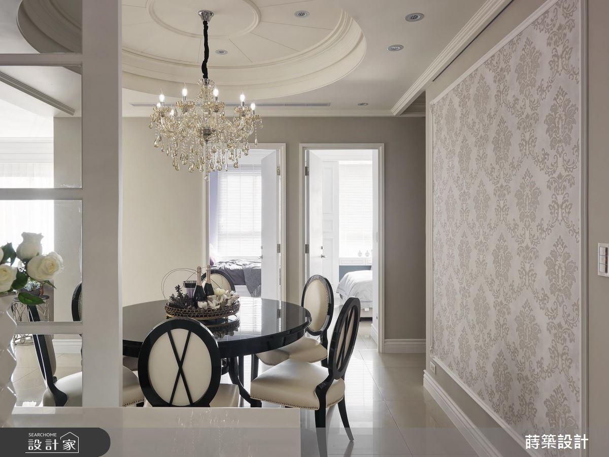42坪新成屋(5年以下)_新古典餐廳案例圖片_蒔築設計有限公司_蒔築_34之13