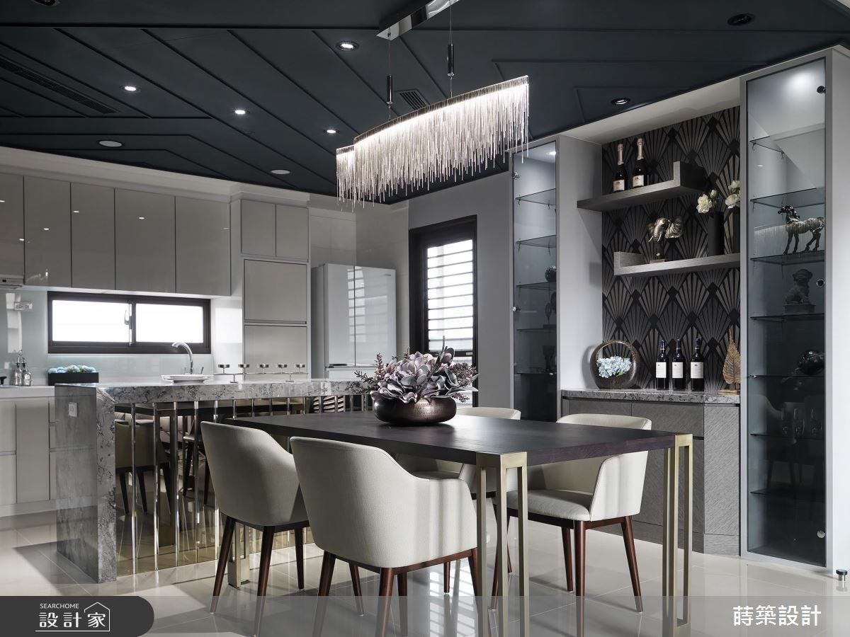 40坪新成屋(5年以下)_現代風餐廳廚房案例圖片_蒔築設計有限公司_蒔築_35之8