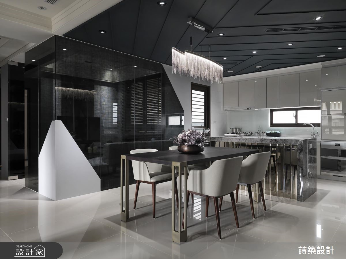 40坪新成屋(5年以下)_現代風餐廳廚房案例圖片_蒔築設計有限公司_蒔築_35之10