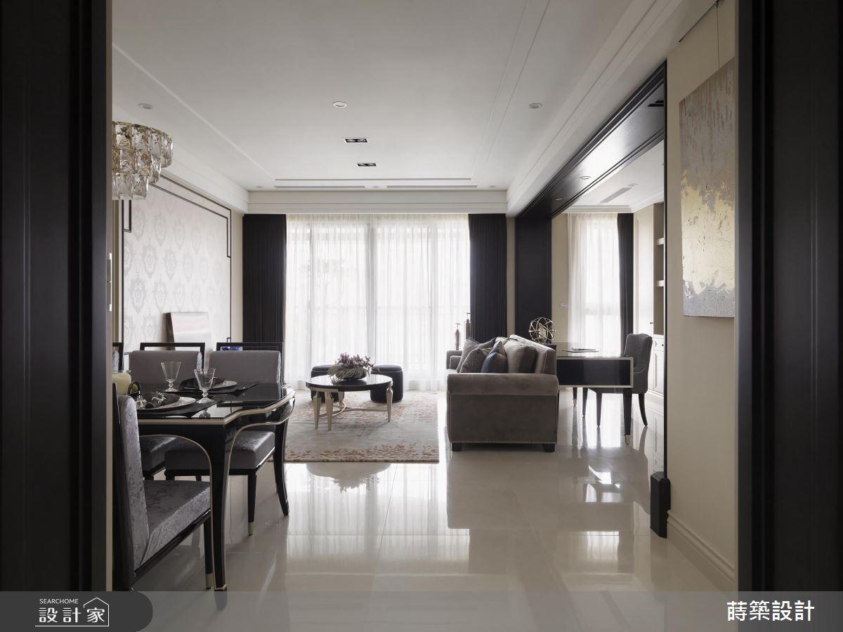 40坪新成屋(5年以下)_新古典客廳案例圖片_蒔築設計有限公司_蒔築_40之76