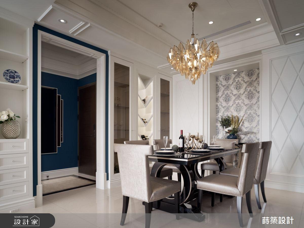 45坪新成屋(5年以下)_新古典餐廳案例圖片_蒔築設計有限公司_蒔築_41之4