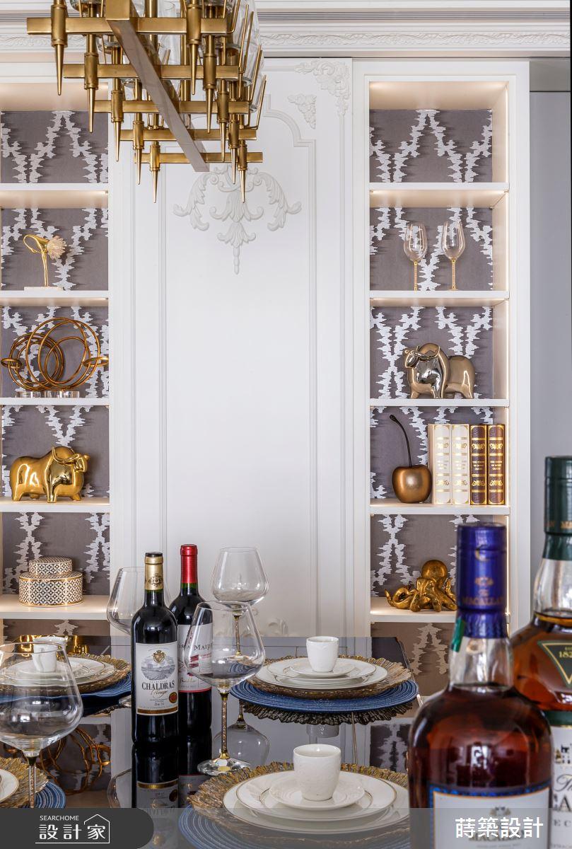 45坪新成屋(5年以下)_新古典餐廳案例圖片_蒔築設計有限公司_蒔築_46之5