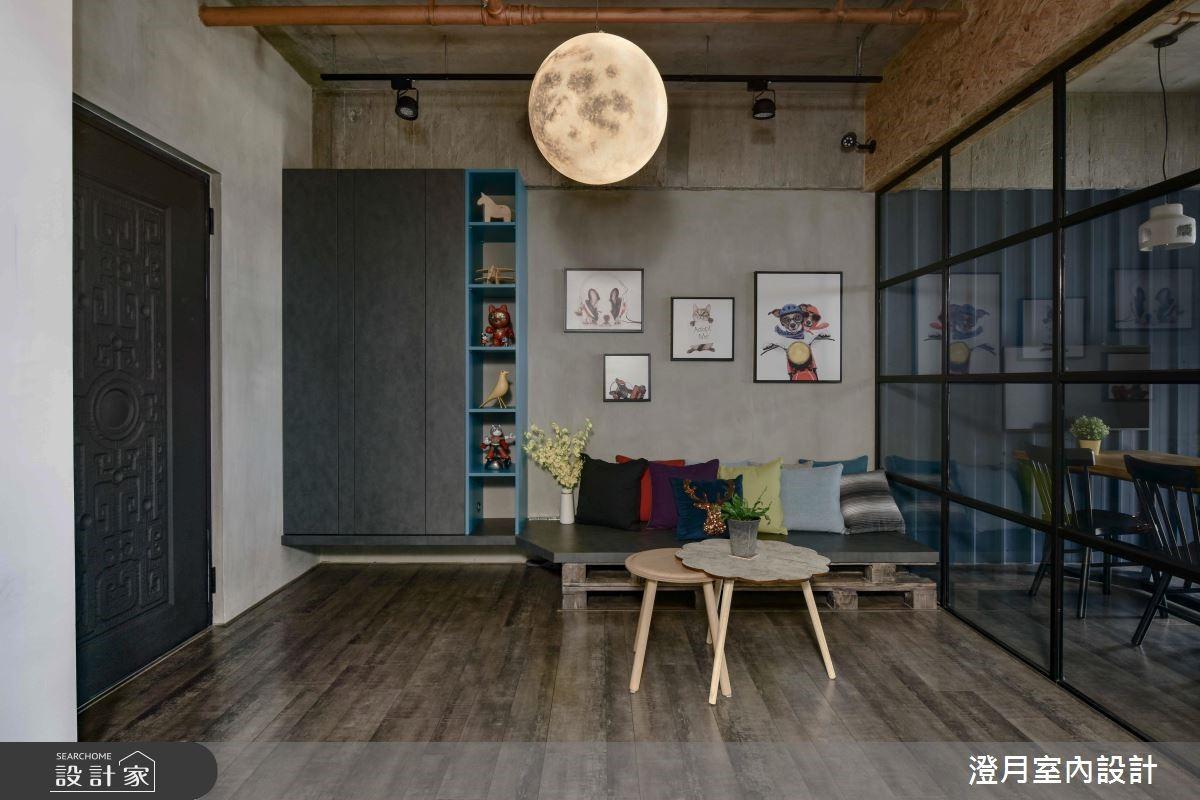 28坪預售屋_工業風商業空間案例圖片_澄月室內設計_澄月_02之4