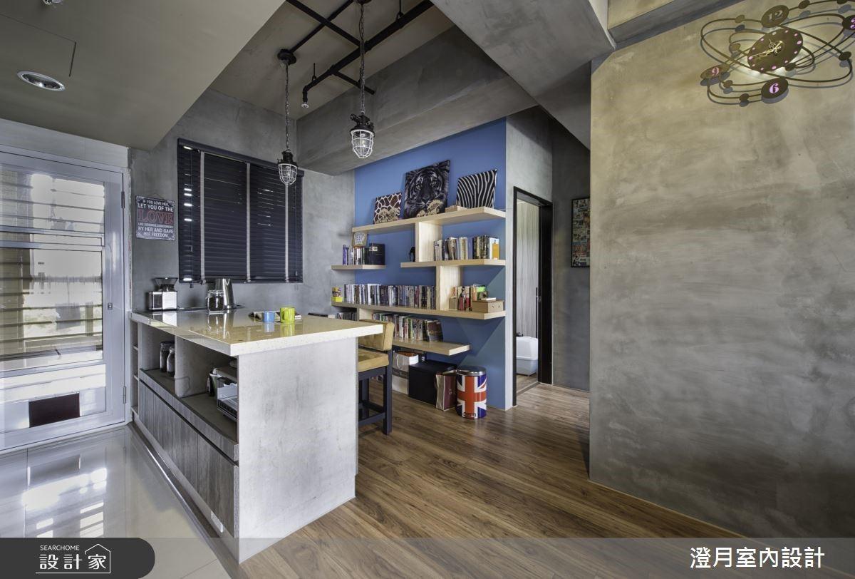 16坪新成屋(5年以下)_工業風餐廳案例圖片_澄月室內設計_澄月_04之4