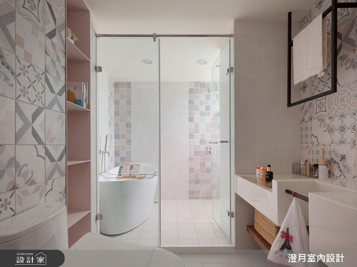 35坪老屋(16~30年)_北歐風浴室案例圖片_澄月室內設計_澄月_13之18