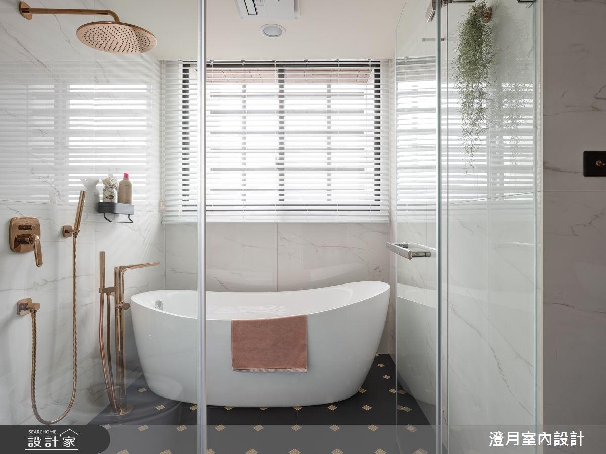 40坪新成屋(5年以下)_現代風案例圖片_澄月室內設計_澄月_14之11