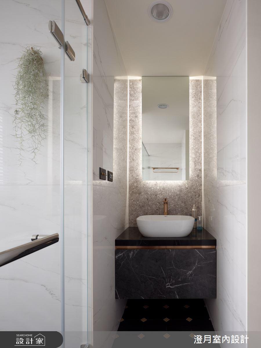 40坪新成屋(5年以下)_現代風案例圖片_澄月室內設計_澄月_14之12