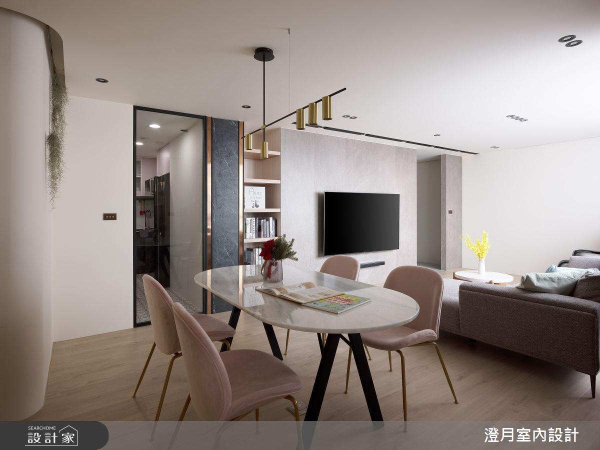 40坪新成屋(5年以下)_現代風案例圖片_澄月室內設計_澄月_14之3