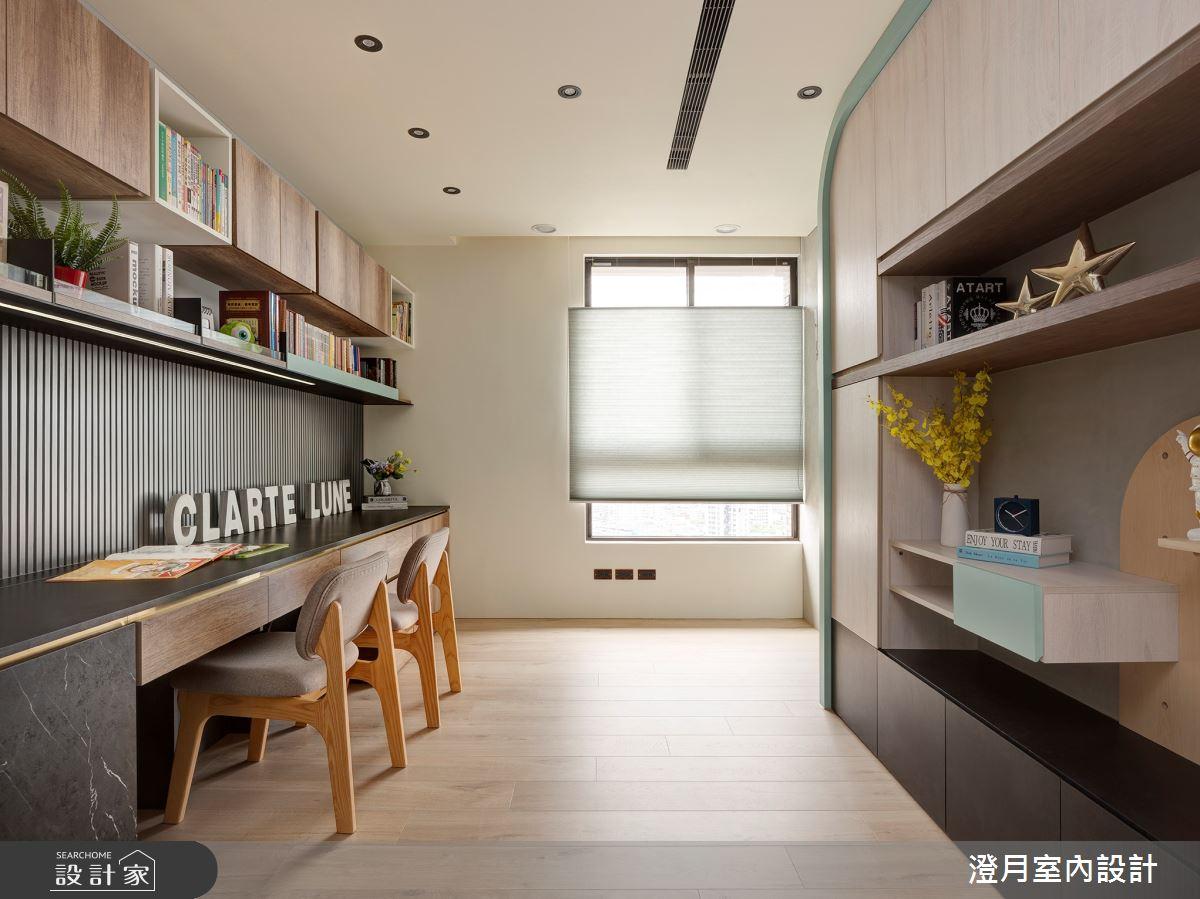 40坪新成屋(5年以下)_現代風案例圖片_澄月室內設計_澄月_14之6