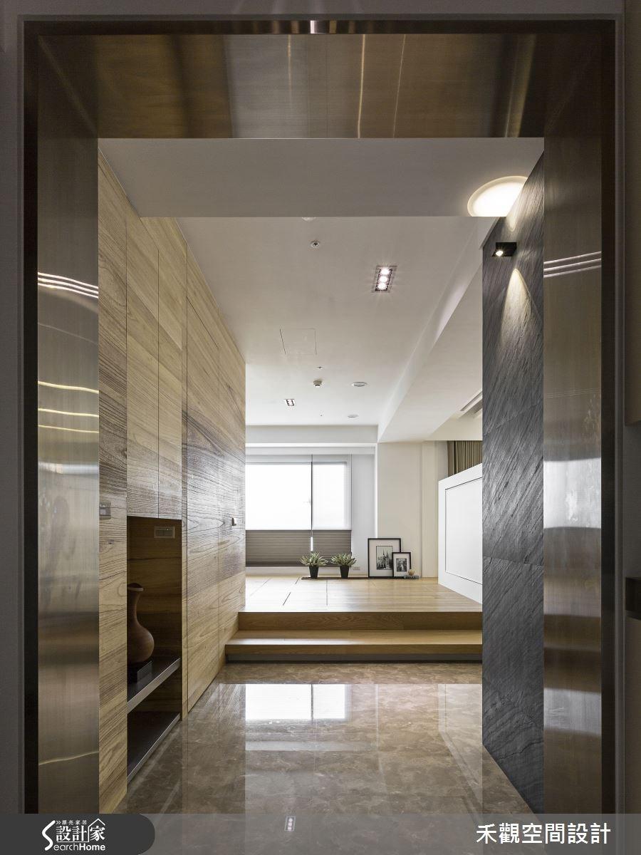 85坪新成屋(5年以下)_現代風走廊案例圖片_禾觀空間設計_禾觀_15之2