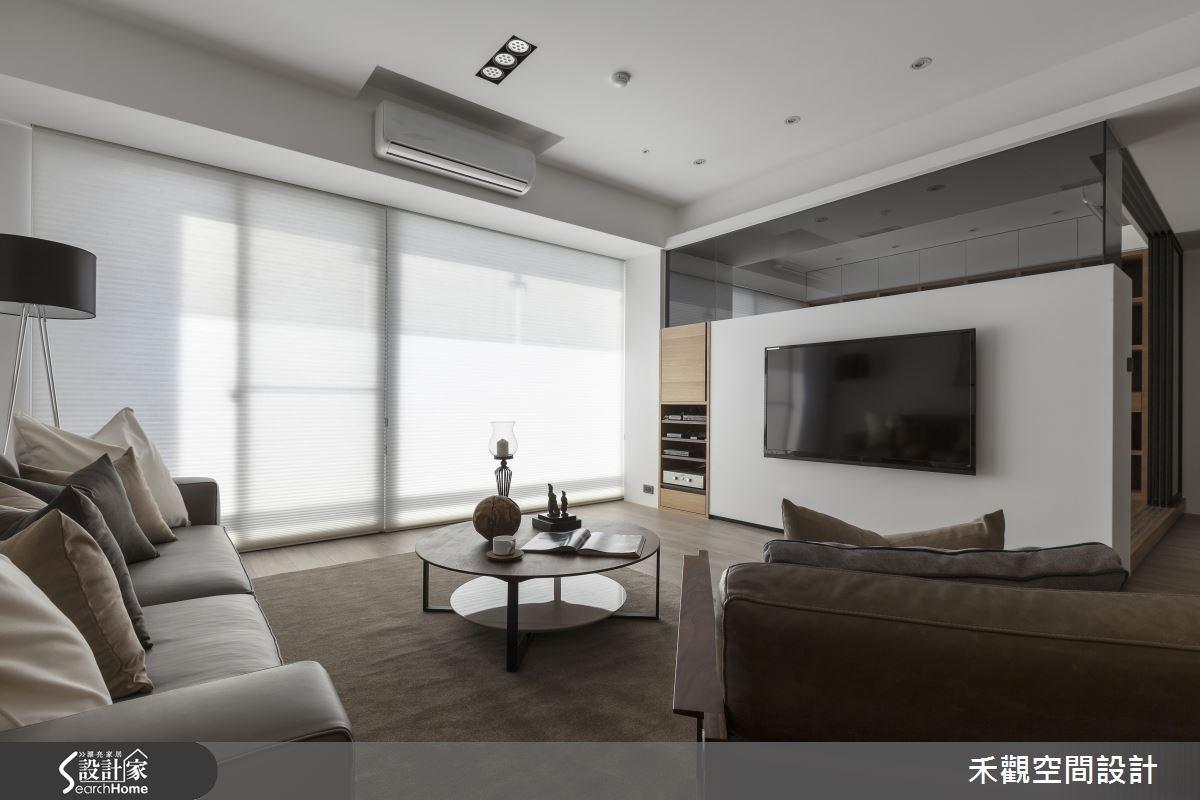50坪新成屋(5年以下)_現代風客廳案例圖片_禾觀空間設計_禾觀_14之5