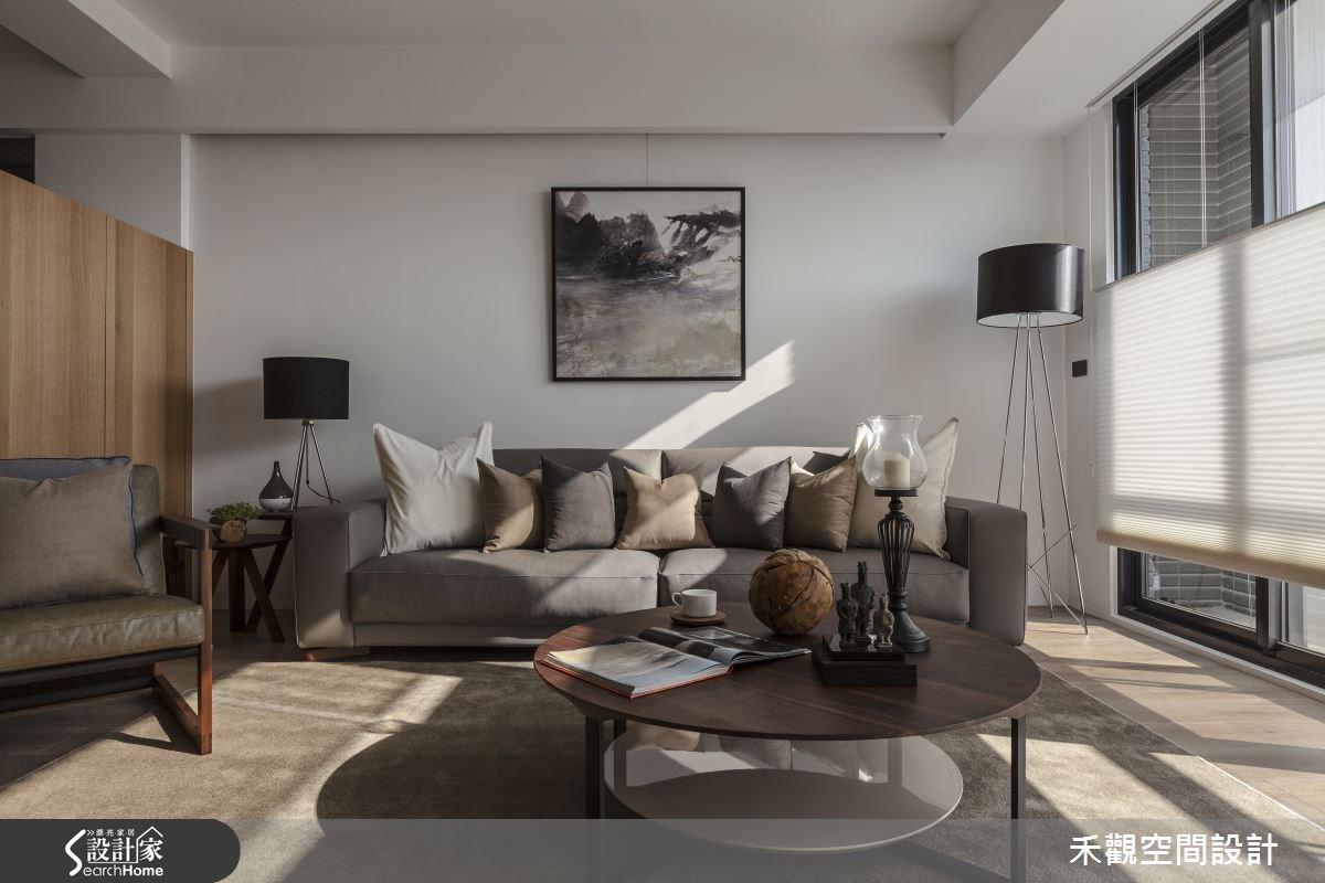 50坪新成屋(5年以下)_現代風客廳案例圖片_禾觀空間設計_禾觀_14之6