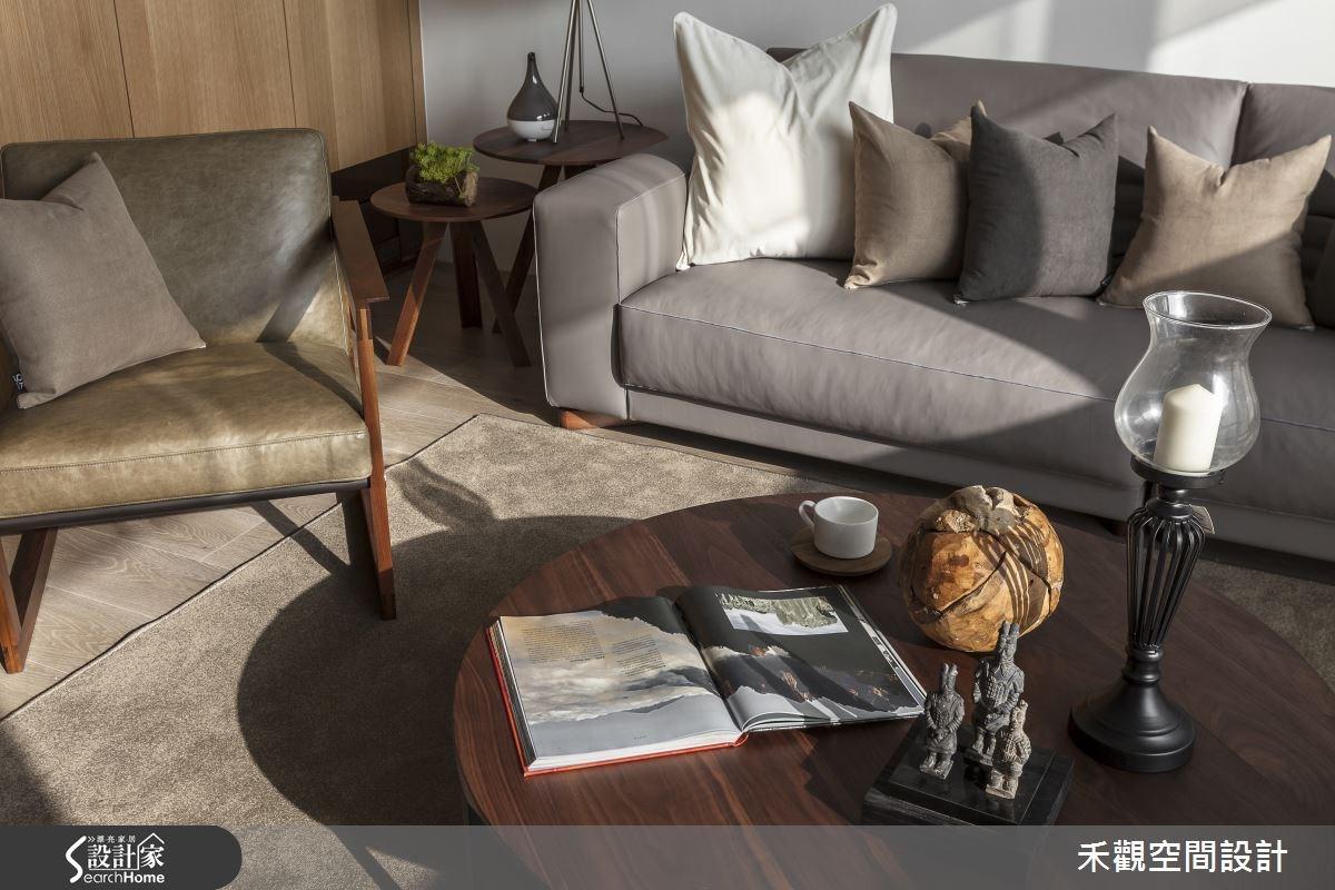 50坪新成屋(5年以下)_現代風客廳案例圖片_禾觀空間設計_禾觀_14之7