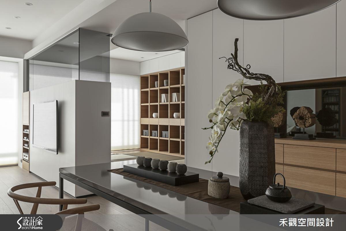 50坪新成屋(5年以下)_現代風餐廳和室案例圖片_禾觀空間設計_禾觀_14之13