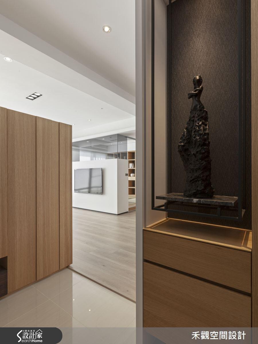 50坪新成屋(5年以下)_現代風走廊案例圖片_禾觀空間設計_禾觀_14之3