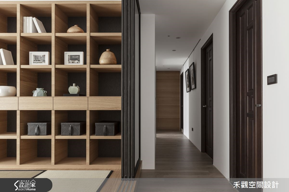 50坪新成屋(5年以下)_現代風和室走廊案例圖片_禾觀空間設計_禾觀_14之15