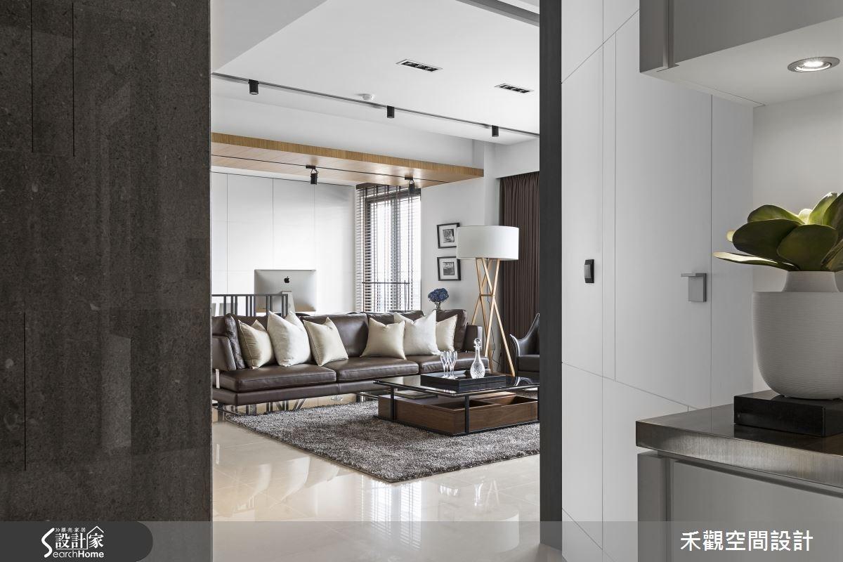 45坪新成屋(5年以下)_現代風客廳案例圖片_禾觀空間設計_禾觀_13之2