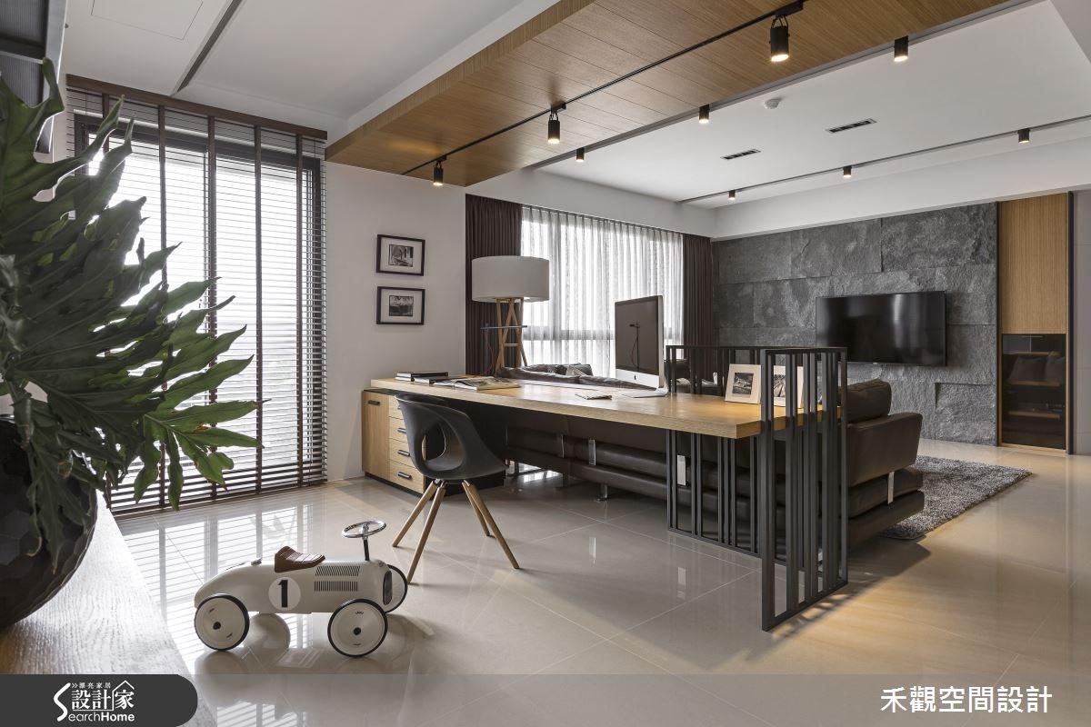 45坪新成屋(5年以下)_現代風書房案例圖片_禾觀空間設計_禾觀_13之6