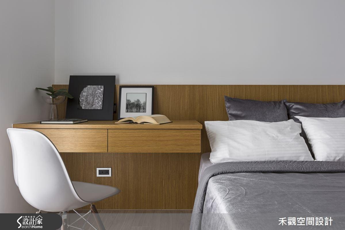 45坪新成屋(5年以下)_現代風臥室案例圖片_禾觀空間設計_禾觀_13之12