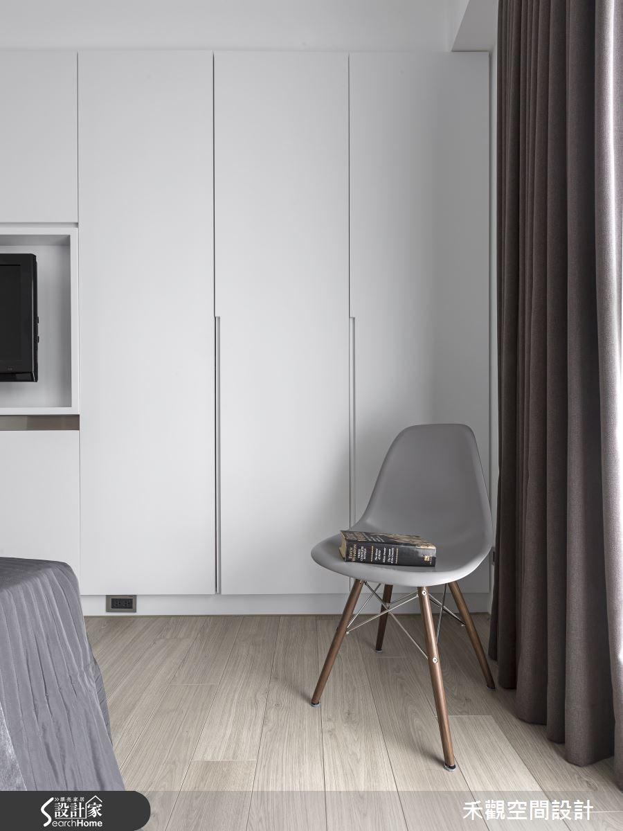 45坪新成屋(5年以下)_現代風臥室案例圖片_禾觀空間設計_禾觀_13之13