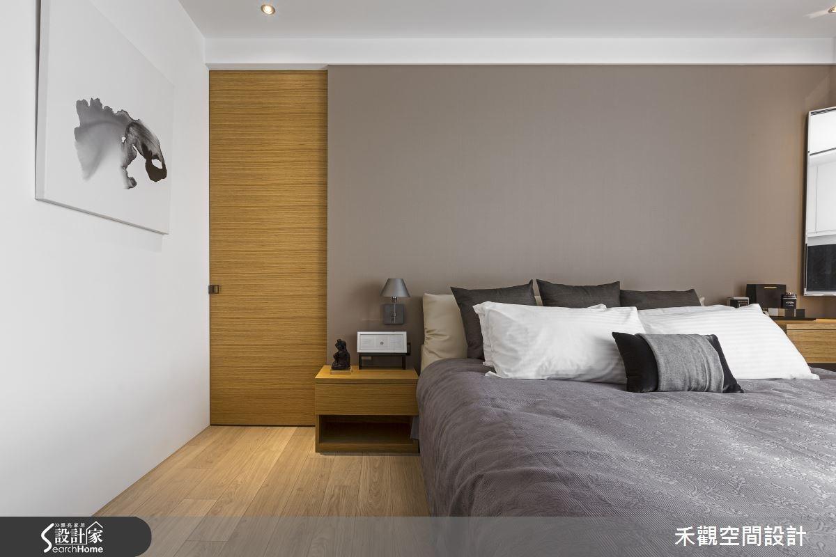 45坪新成屋(5年以下)_現代風臥室案例圖片_禾觀空間設計_禾觀_13之14