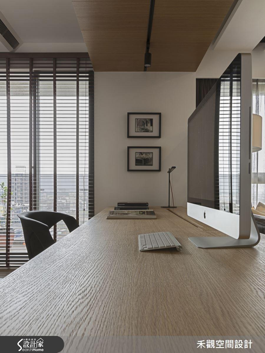 45坪新成屋(5年以下)_現代風書房案例圖片_禾觀空間設計_禾觀_13之15