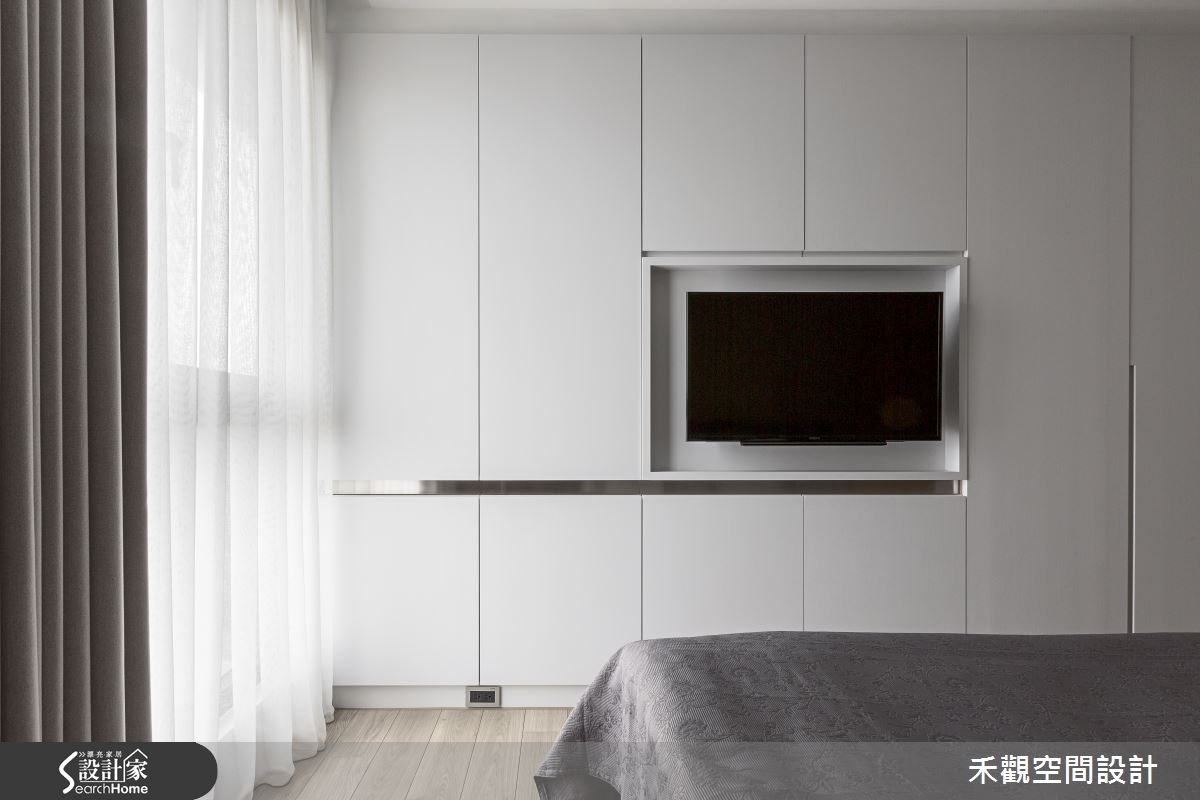45坪新成屋(5年以下)_現代風臥室案例圖片_禾觀空間設計_禾觀_13之17