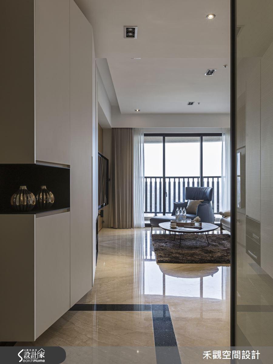 37坪新成屋(5年以下)_現代風走廊案例圖片_禾觀空間設計_禾觀_10之2