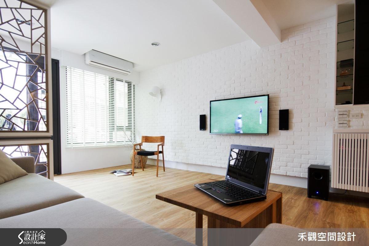 35坪老屋(16~30年)_北歐風客廳案例圖片_禾觀空間設計_禾觀_01之3