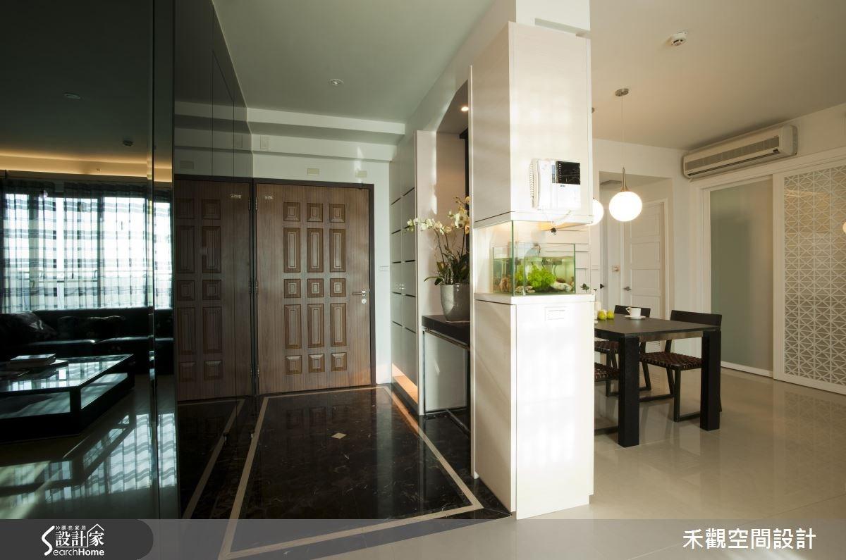 60坪新成屋(5年以下)_現代風玄關案例圖片_禾觀空間設計_禾觀_03之2